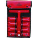 16-440 VDE, Ключ высоковольтный со сменными головками от 10 ...
