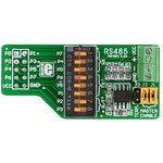 MIKROE-66, RS485 Board, Дочерняя плата с RS 485 интерфейсом