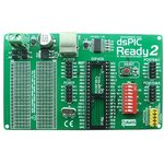 MIKROE-450, dsPIC-Ready2 Board, Макетная плата для 40-pin dsPIC c USB