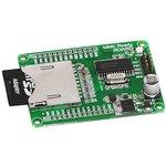 Фото 2/2 MIKROE-545, MMC Ready Board, Оценочная плата для разработки устройств с MMC/SD интерфейсом