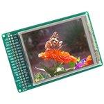 MIKROE-495, TFT - PROTO Board, Плата с сенсорным дисплеем 320х240