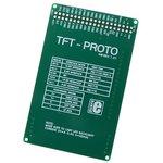 Фото 2/4 MIKROE-495, TFT - PROTO Board, Плата с сенсорным дисплеем 320х240