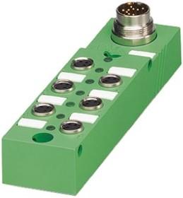 1516195, Sensor act box,PNP,M8 soc