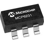 Фото 3/3 MCP6231T-E/OT, Операционный усилитель, Одиночный, 1 Усилитель, 300 кГц, 0.15 В/мкс, 1.8В до 6В, SOT-23