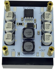 Фото 1/2 SCV0033-ADJ-5A-R, Импульсный регулируемый стабилизатор напряжения 1.2-37В/5А, с радиатором