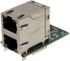 AC320004-7, Add-On Board, KSZ8863 Ethernet PHY Board For Microchip Starter Kits