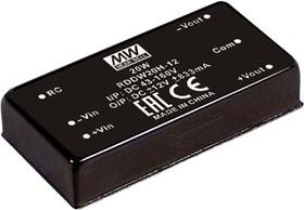 RDDW20F-15, DC/DC преобразователь