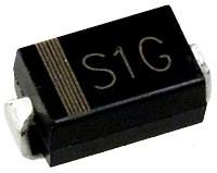 S1G(M4) диод 1A 400В для поверх.монт. SMA(DO214AC)