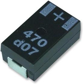 6SW180M, Polymer Aluminium Electrolytic Capacitor, 180 мкФ, 6.3 В, 2917 [7343 Метрический], Серия SW