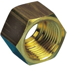 0110 08 00, BRASS SLEEVE NUT,8MM