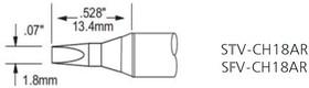 SFV-CH18AR, Наконечник для PS-900 клин удлиненный 1,8 х 13.4 мм