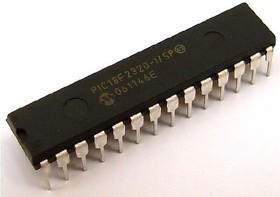 Фото 1/2 PIC18F2320-I/SP, Микроконтроллер 8-Бит, PIC, 40МГц, 8КБ (4Кx16) Flash, c 10-Бит АЦП, 16 I/O [DIP-18]