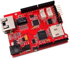 Seeeduino Ethernet, Программируемый контроллер на основе МК ATmega328 + Ethernet интерфейс (аналог Arduino Ethernet)