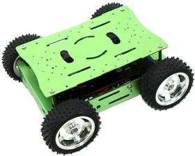 Фото 1/4 Skeleton Bot - 4WD Hercules Mobile Robotic Platform, Мобильная платформа для робототехники