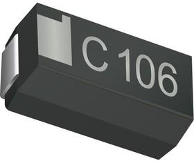 F9H1A156KAA, Surface Mount Tantalum Capacitor, 15 мкФ, 10 В, 1206 [3216 Метрический], F9H Series, ± 10%, -55 °C