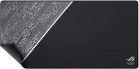 Фото 1/4 ASUS ROG Sheath BLACK Игровой коврик для мыши (900 x 440 x 3 mm, каучук, нетканый материал, cиликон, 90MP00K3-B0UA00)
