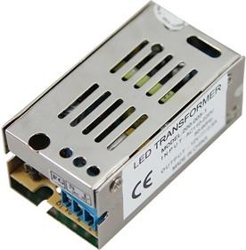 200-005-1, Источник питания 110-220V AC/12V DC, 0,5A, 5W с разъёмами под винт, без влагозащиты (IP23)