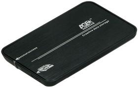 Внешний корпус для HDD AGESTAR 3UB2A8-6G, черный