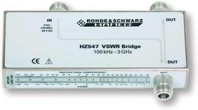 Фото 1/2 HZ547, Измерительный КСВН мост до 3ГГц, 50Ом, для HMS1010, HMS3010