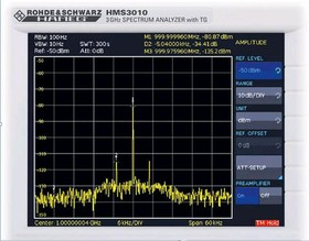 HO3011, Опция предусилителя для анализаторов спектра HMS1000, HMS1010, HMS3000, HMS3010