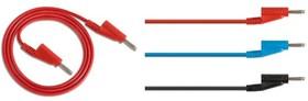 HZ10B, Силиконовый измерительный провод, синий (5 шт.)