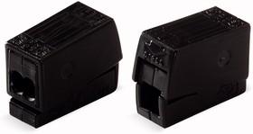224-114, Клемма для осветительного оборудования, (1,0-2,5)х2/(0,5-2,5) мм