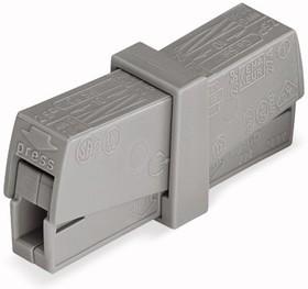 224-201, Клемма для осветительного оборудования, (0,5-2,5)/(0,5-2,5) кв.мм