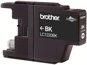 Картридж BROTHER LC1220BK черный