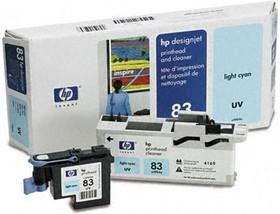 Печатающая головка HP 83 C4964A, светло-голубой