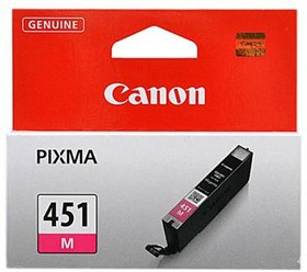 Картридж CANON CLI-451M 6525B001, пурпурный