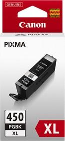 Картридж CANON PGI-450XLPGBK 6434B001, черный