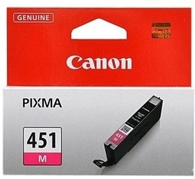 Картридж CANON CLI-451XLM 6474B001, пурпурный