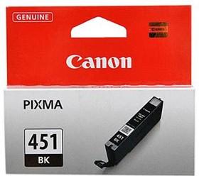 Картридж струйный Canon CLI-451BK 6523B001 черный для Canon Pixma iP7240/MG6340/MG5440 (337стр.) (7м