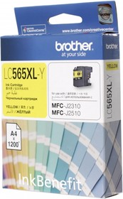 Картридж BROTHER LC565XLY желтый