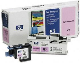 Печатающая головка HP 83 C4965A, пурпурный
