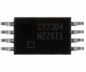 CY2304NZZXI-1T, Универсальный буфер c четырьмя выходными шинами расширения ввода/вывода PCI-X