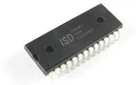 ISD1760PY, Микросхема запись/воспроизведение голосовых сообщений 40-120cек