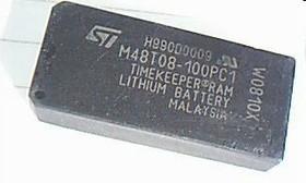 M48T08-100PC1, Энергонезависимая ОЗУ с функцией хранения реального времени, 64-Кб (8 Кб х 8), 5В