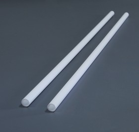 EVG248, Пруток пластиковый четверть круга 2 мм, 4 шт (длина 350 мм)