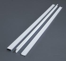 EVG267, Швеллер пластиковый 6,3х2 мм, 3 шт (длина 350 мм)