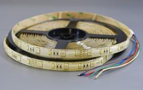 L60RGB+W-IP65(RT 2-5000) 12V RGB-White (5060+3528), Лента светодиодная 1 метр, 30SMD(5050+3528)/m RGB+W , Ширина 10мм