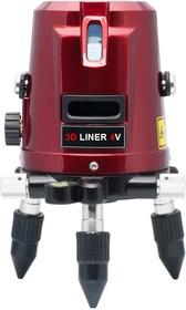 Фото 1/10 3D Liner 3V, Построитель лазерных плоскостей (нивелир)
