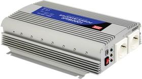 Фото 1/2 A301-1K0-F3, DC/AC инвертор, 1000Вт, вход 12В, выход 230В(преобразователь автомобильный)