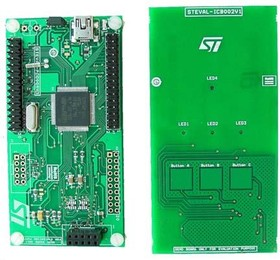 STEVAL-ICB002V1, Capacitive touch daughter board based on the STMPE821