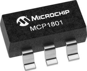 Фото 1/3 MCP1801T-3002I/OT, LDO Regulator Pos 3V 0.15A 5-Pin SOT-23 T/R