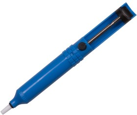 Фото 1/3 12-0201 (FD-7058), Оловоотсос для припоя, пластик