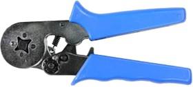 Фото 1/6 12-3202, Кримпер для обжима штыревых клемм 0.25 - 6.0 мм2