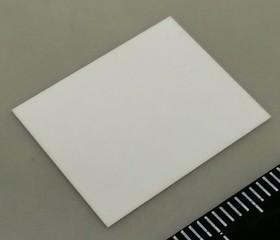 Al2O3 KC304000-TO220.038AX, Подложка керамическая теплопроводящая Al2O3 25 Вт/мК, 25кВ/мм для ТО-220 (0,38х12х18 без отверстия) | купить в розницу и оптом