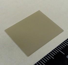 AlN KC304000-TO247.05NX, Подложка керамическая теплопроводящая AlN 180 Вт/мК, 17кВ/мм для ТО-247 (0,5х18х23мм без отверстия)