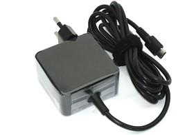 Блок питания (сетевой адаптер) для ноутбуков Samsung 5V-15V 2-3A 30W Type-C черный, в розетку